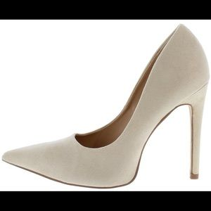 Shoes - NEW! Nude pointed toe stiletto heel